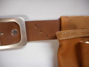 personnalisation ceinture