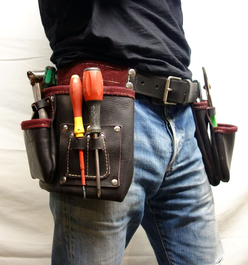 achat ceinture porte outils cuir