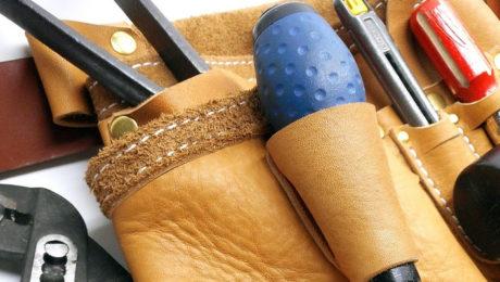 Choisir sa ceinture porte outils en cuir