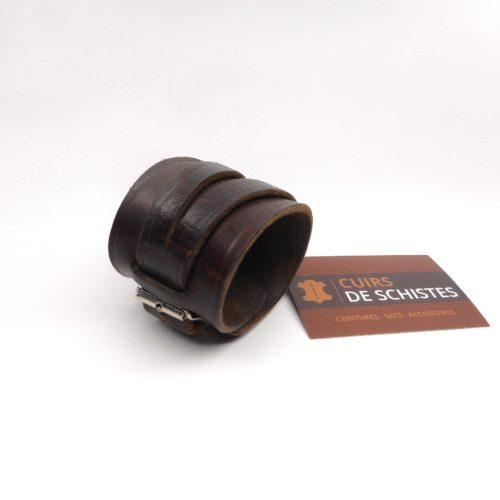 Bracelet force par Cuirs De Schistes